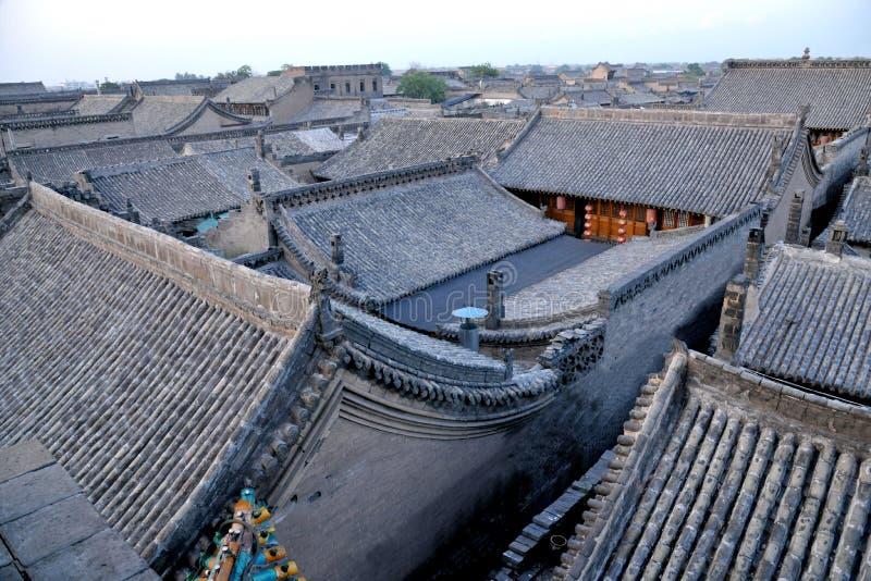 Werelderfenis: Pingyao Oude Stad royalty-vrije stock afbeelding