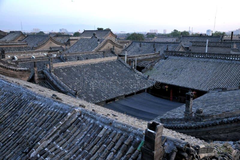 Werelderfenis: Pingyao Oude Stad stock foto's