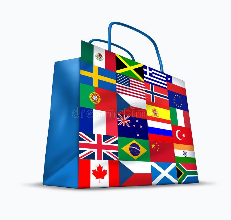 Wereldhandel royalty-vrije illustratie