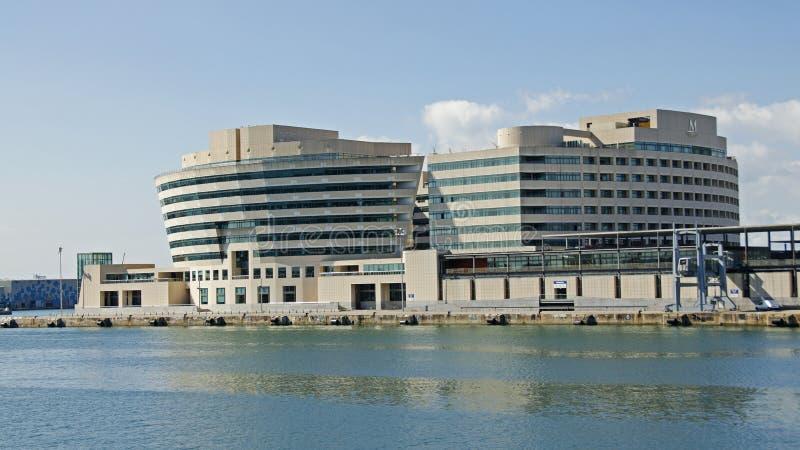 Wereldhandelcentrum, Barcelona, Spanje stock afbeelding