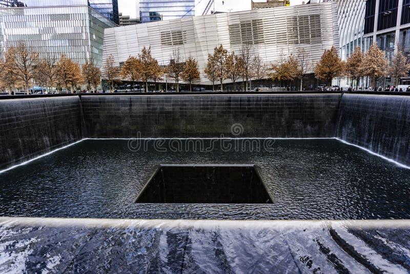 Wereldhandelscentrum, Nationaal 11 September Herdenkings en Museum royalty-vrije stock afbeelding