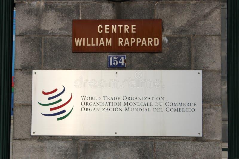Wereldhandelsorganisatie stock fotografie