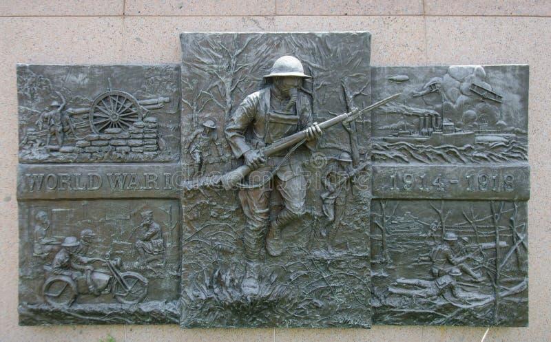 Wereldoorlog Igedenkteken stock afbeeldingen