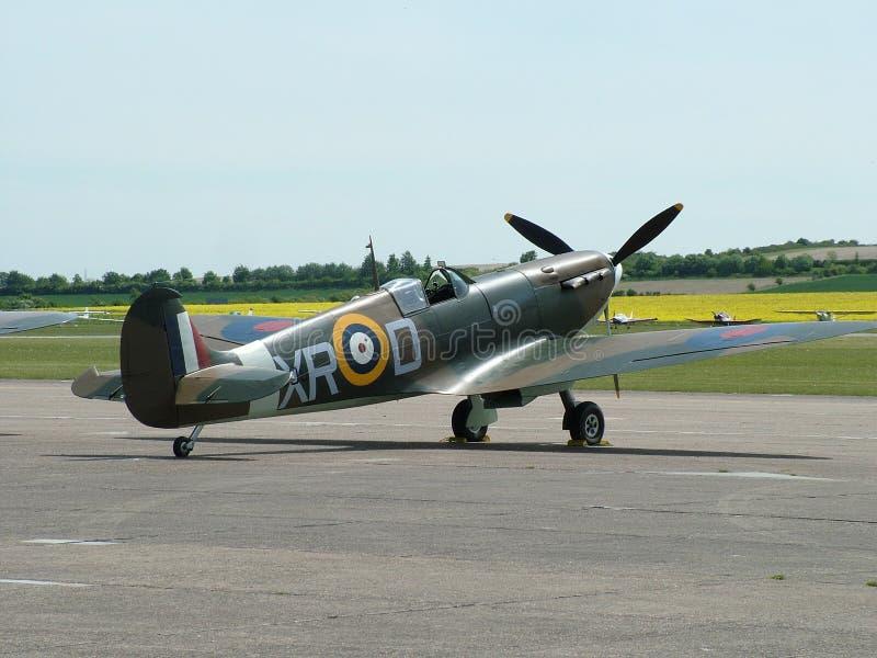 Wereldoorlog Twee Vliegtuig - Heethoofd stock foto's