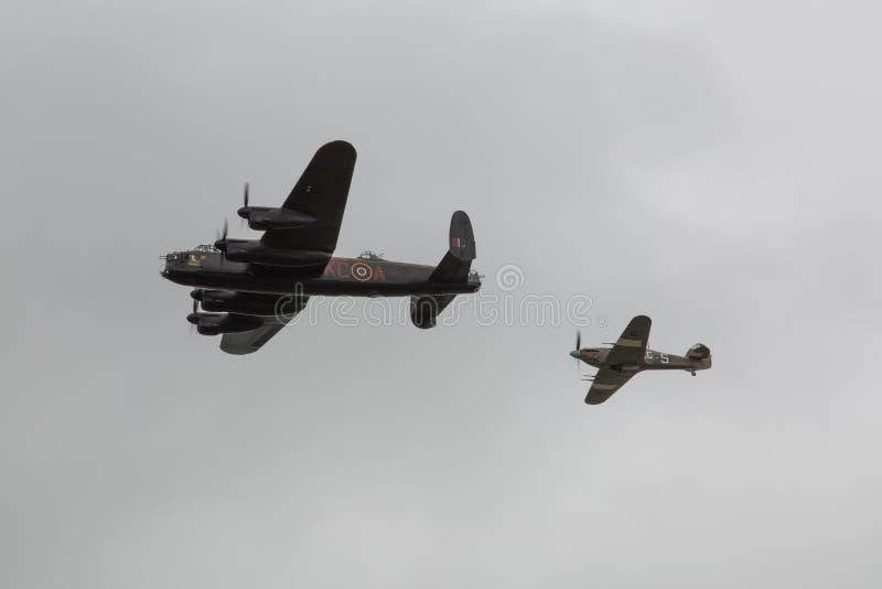 Wereldoorlog 2 vliegtuigen royalty-vrije stock afbeeldingen