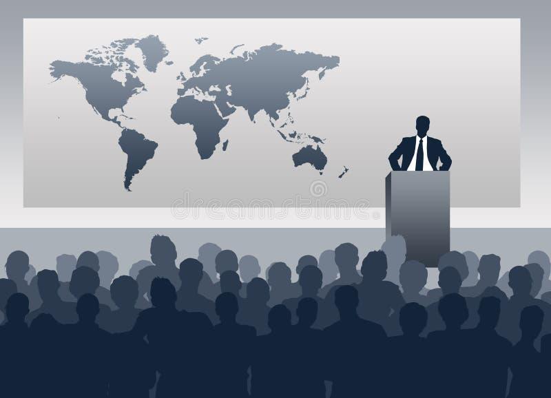 Wereldpolitiek vector illustratie