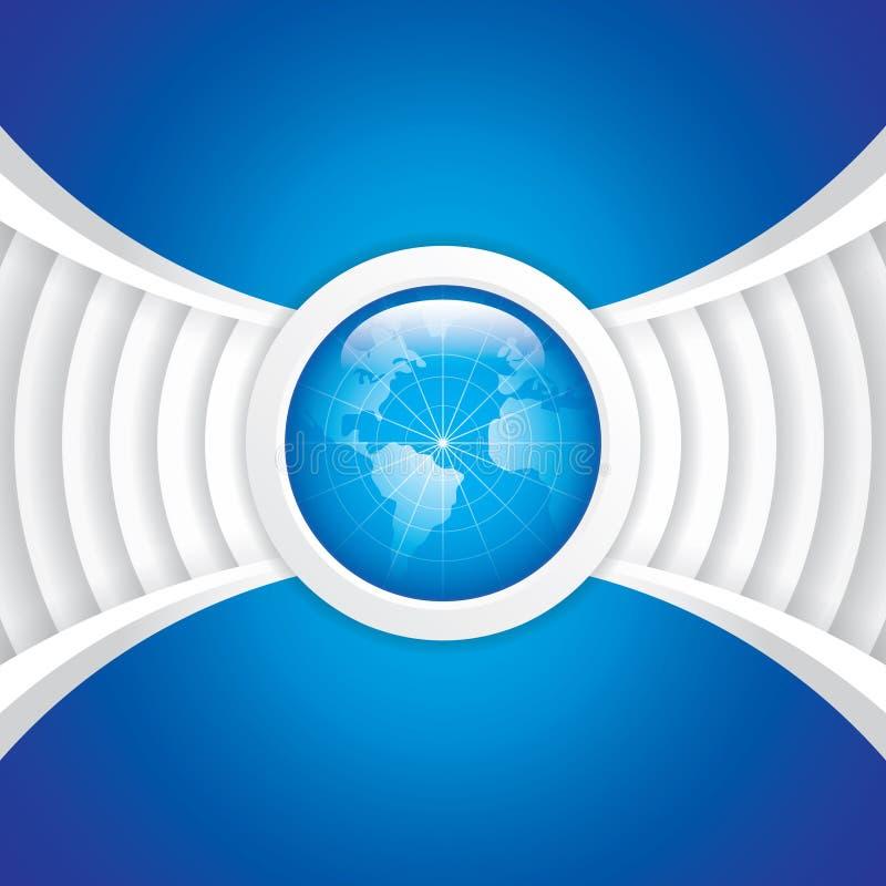 Wereldtechnologie vector illustratie