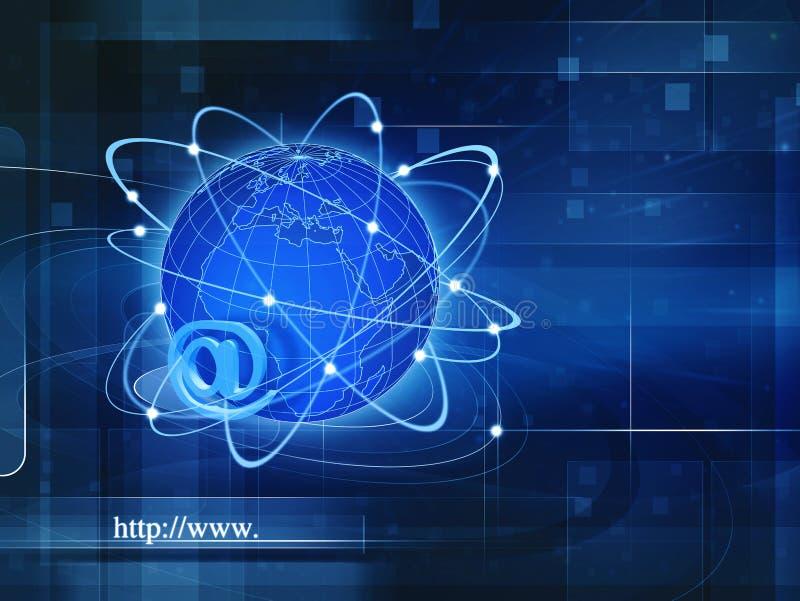 Wereldwijde informatiemaatschappij royalty-vrije stock foto