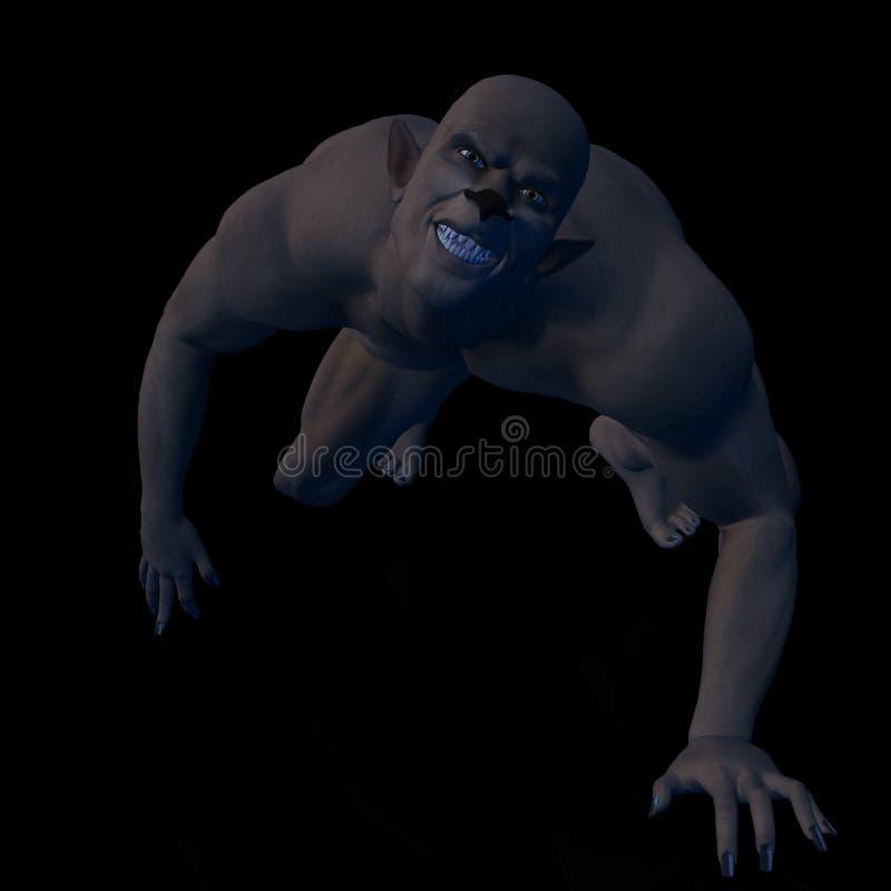 werewolf 02 διανυσματική απεικόνιση