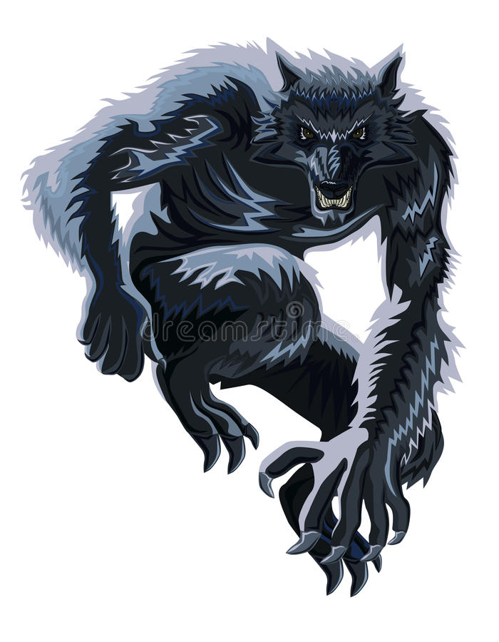 Werewolf royalty free stock image