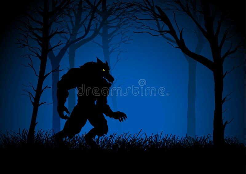 werewolf libre illustration