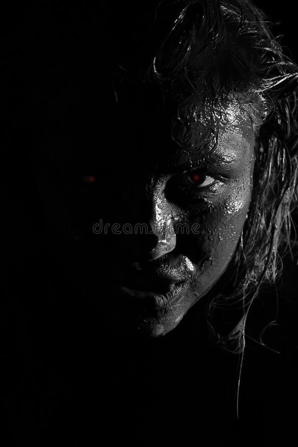werewolf royaltyfri bild