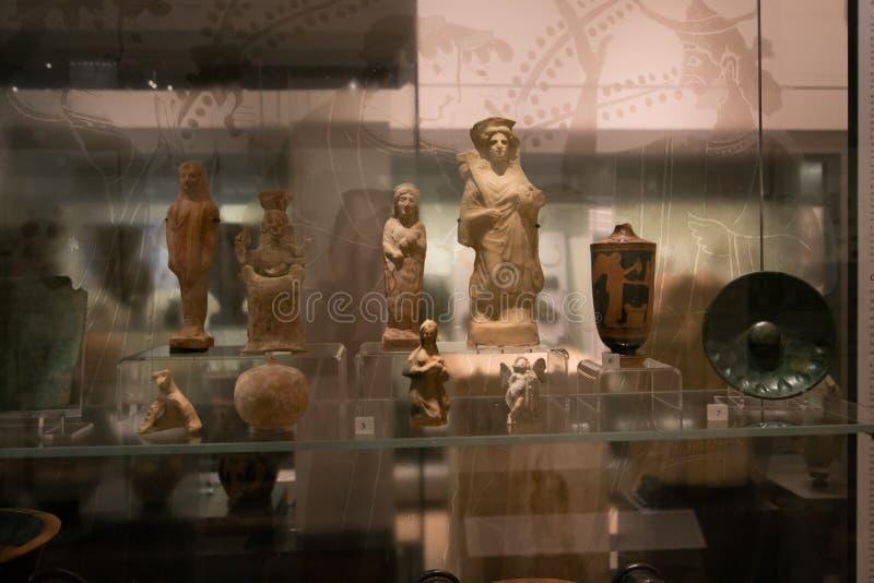 Werfen Sie Galerie im Ashmolean-Museum, Oxford stockbild