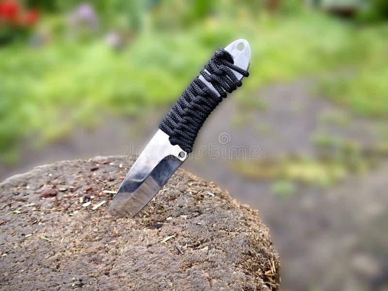 Werfendes Messer lizenzfreies stockbild