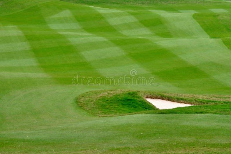 Werk gazon van golfhof uit royalty-vrije stock fotografie