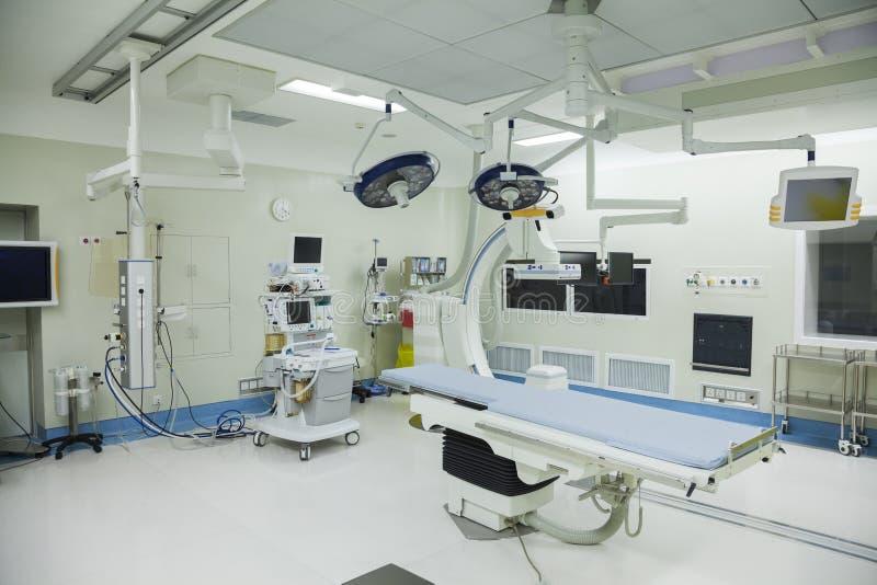 Werkende ruimte met chirurgisch materiaal, het ziekenhuis, Peking, China royalty-vrije stock foto's