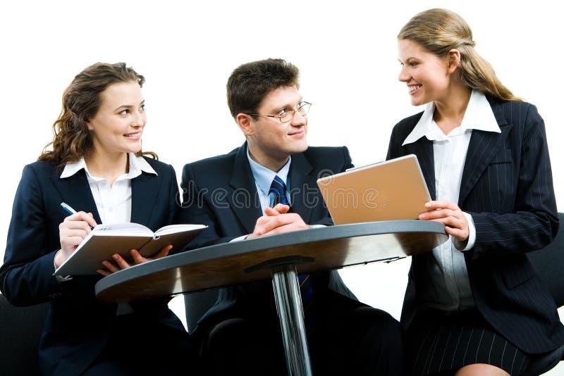 Werkende vergadering royalty-vrije stock afbeelding