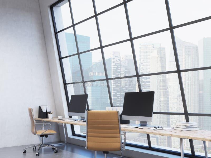 Werkplaats in het bureau royalty-vrije stock fotografie
