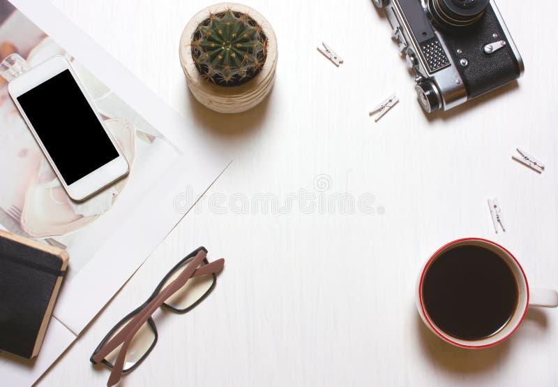 Werkplaatsontwerper, creatief, het concept van journalistThe een goed royalty-vrije stock afbeelding