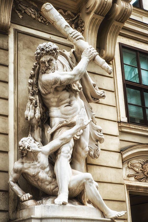 Werkt van Hercules royalty-vrije stock foto