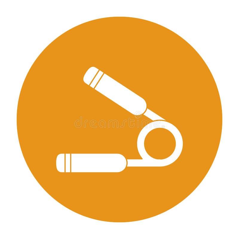 Werkzeug und Eignungskonzeptdesign stock abbildung