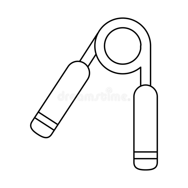 Werkzeug und Eignungskonzeptdesign vektor abbildung