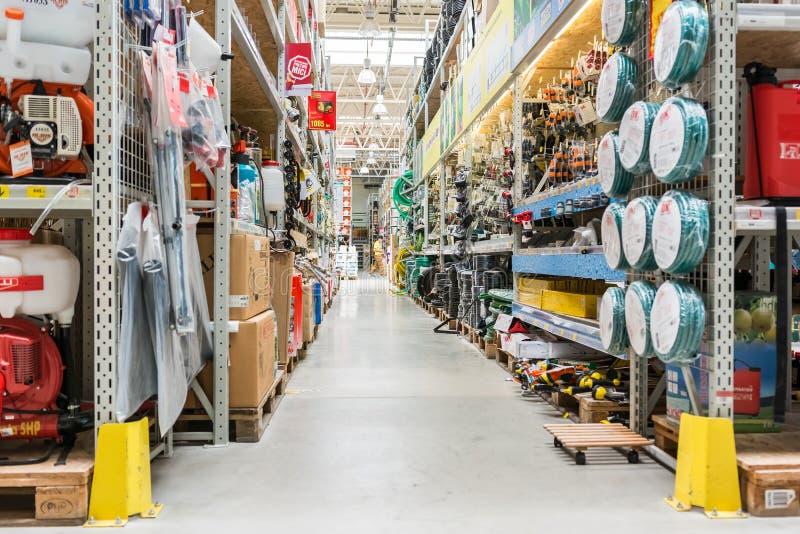 Werkzeug-und Gerät-Grossmarkt stockfoto