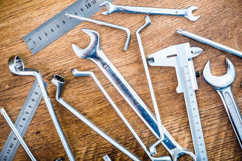 Werkzeuge und Instrumente lizenzfreie stockfotos