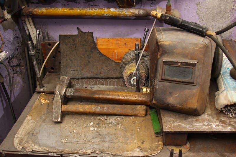 Werkzeuge von Vulkanisierung lizenzfreie stockbilder