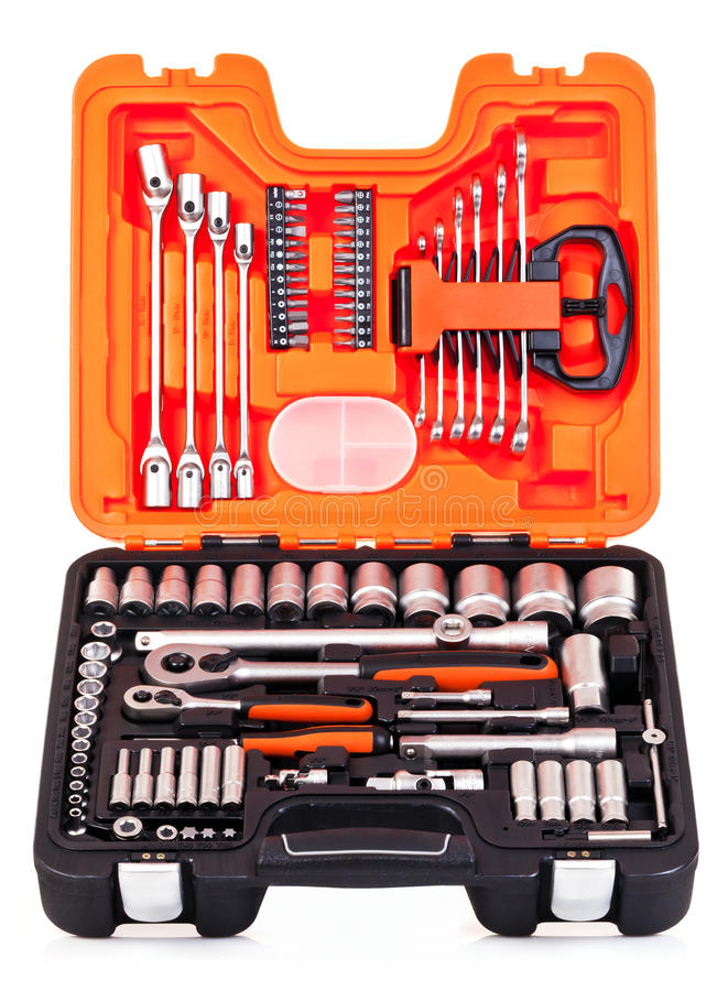 Werkzeugkasten lizenzfreies stockfoto