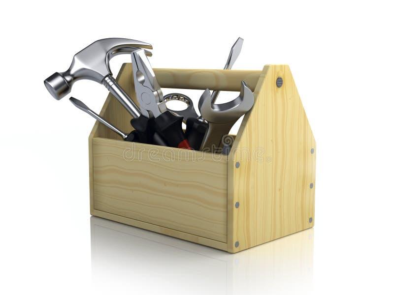 Werkzeugkasten stock abbildung
