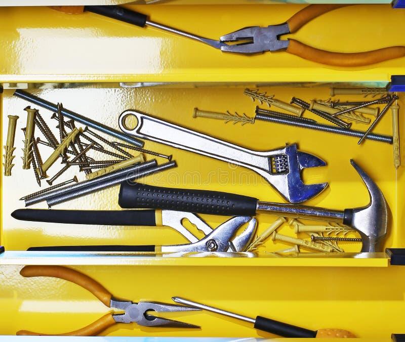 Download Werkzeugkasten stockfoto. Bild von blau, verbesserung - 26361044