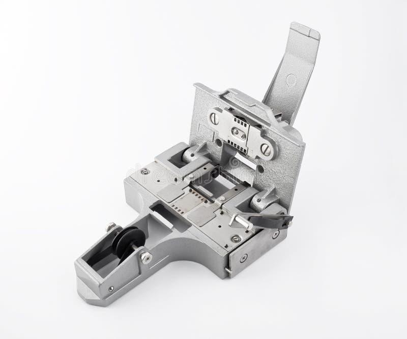 Werkzeugmaschine für Filmreparatur lizenzfreies stockbild