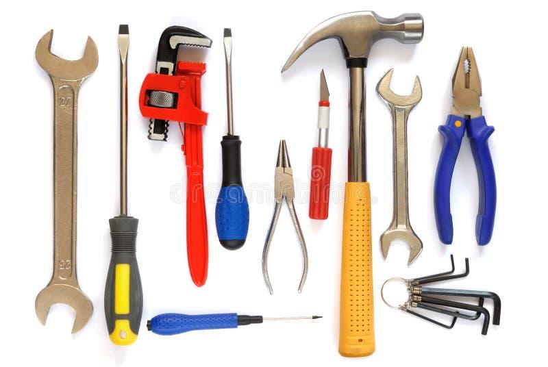 Werkzeugsatz stockfotos