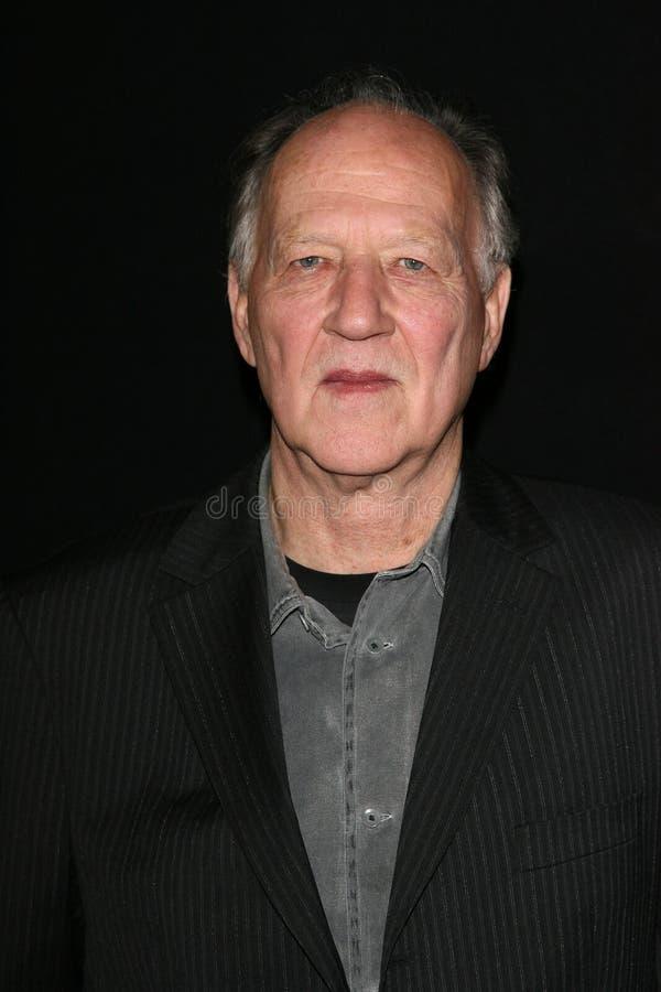 Werner Herzog imagen de archivo libre de regalías