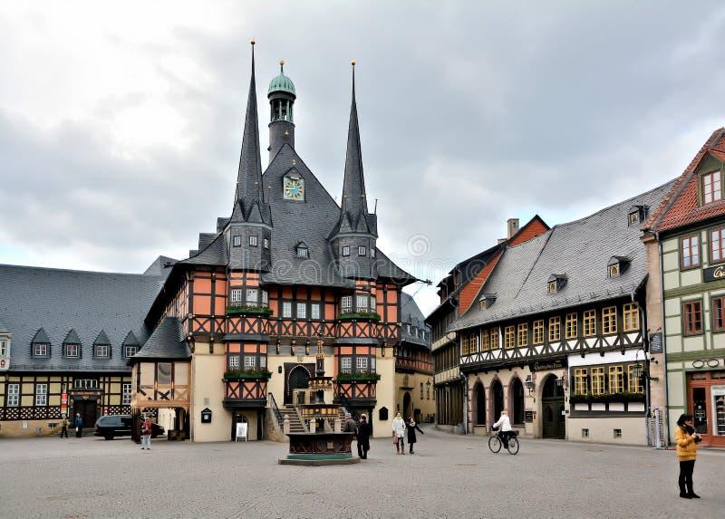 Wernigerode стоковая фотография rf