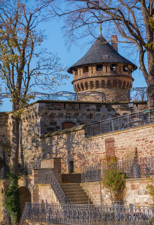 Wernigerode Castle royalty free stock image