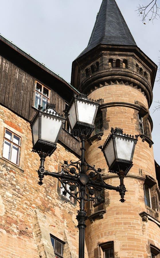 Wernigerode - kasztel - III - zdjęcie royalty free