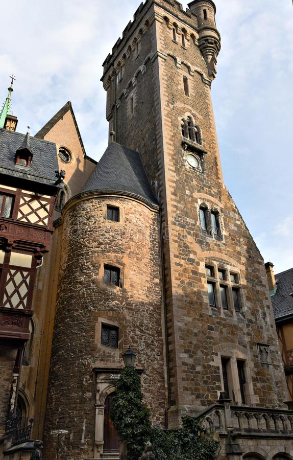 Wernigerode - kasztel - IV - obraz royalty free