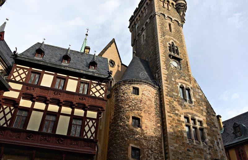 Wernigerode - kasztel - VIII - zdjęcia royalty free
