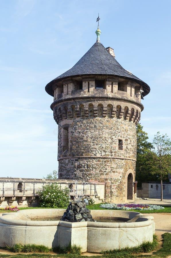 Wernigerode slott, Tyskland arkivfoto