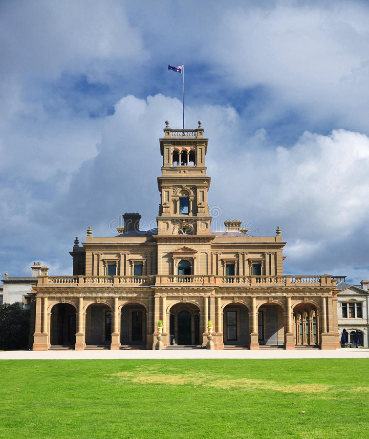 Free Werribee Mansion Royalty Free Stock Photo - 25591905