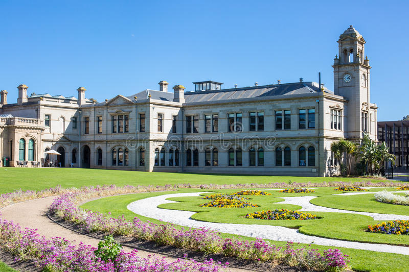 Werribee Mansion Gardens royalty free stock photos