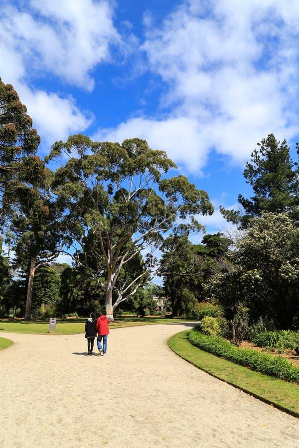 Werribee-Park in Melbourne, Australien lizenzfreies stockfoto