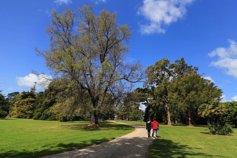 Werribee-Park in Melbourne, Australien stockbild