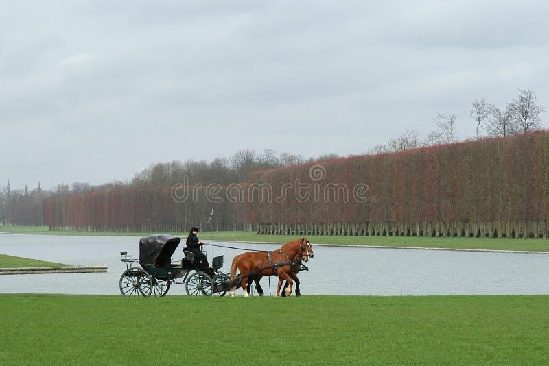 Download Wersal park zdjęcie stock. Obraz złożonej z pałac, woda - 130752