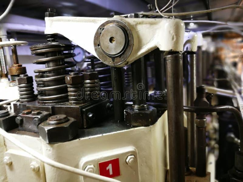Werskpoor Marine Engine immagine stock
