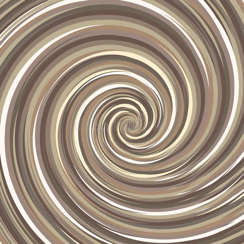 Wervelende achtergrond De spiraalvormige kleur van de oppervlaktenoot royalty-vrije illustratie