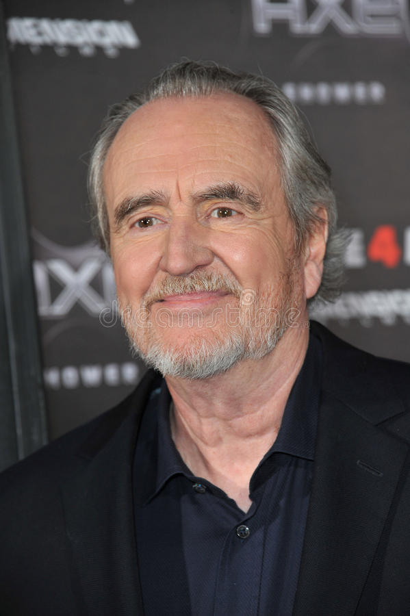 Download Wes Craven editorial stock image. Image of scream, world - 26912544