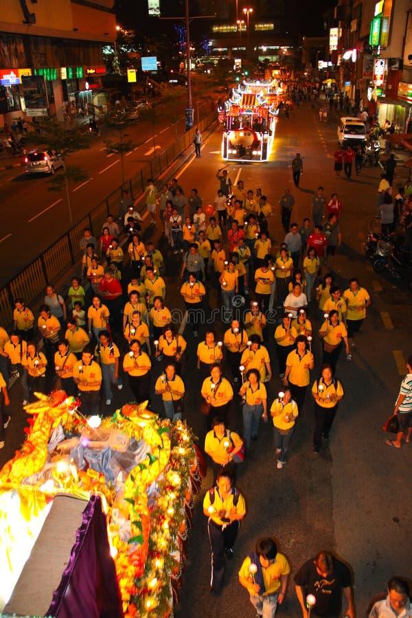 Wesak Procession 2011 royalty free stock photos